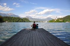 Bled, Eslovênia - Lago de Bled de dia