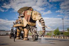 Les Machines de l'Ile in Nantes, France