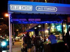 Blue Smoke Barbeque & Jazz.