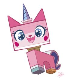 unikitty. You wouldn't like it when I'm angry