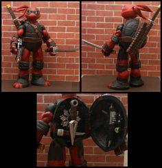 Deadpool Ninja Turtle Custom Figure
