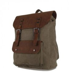 ARMY GREEN VINTAGE BACKPACK http://www.ruavintage.com/es/tienda/mochilas/army-green-vintage-backpack
