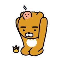 상업용도로 사용 금지재배포 금지 스크랩 한거 다 추적 가능하니 댓글좀 달아주세요. 모으느라 힘들었음... Friends Wallpaper, Bear Wallpaper, Funny Character, Character Design, Ryan Bear, Kakao Ryan, Apeach Kakao, Vector Animation, Cute Little Drawings