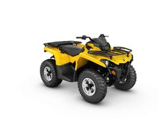 New 2017 Can-Am Outlander DPS 450 ATVs For Sale in Florida. 2017 Can-Am Outlander DPS 450, The 2017 Can-Am Outlander DPS 450 will  raise your expectations, not your price range. Get the all-terrain performance you'd expect from Can-Am at the most accessible price ever. Torsional Trailing Arm Independent (TTI) rear suspension Double A-Arm front suspension Visco-Lok auto-locking front differential 1,300 lb (590 kg) Towing Capacity Tri-Mode Dynamic Power Steering (DPS) 12-in. (30.5 cm)…