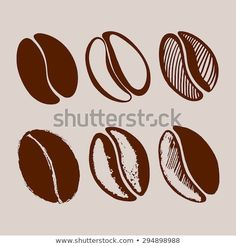 Find Hand Drawn Coffee Beans stock images in HD and millions of other royalty-free stock photos, illustrations and vectors in the Shutterstock collection. Coffee Bean Art, Coffee Bean Logo, Coffee Shop Logo, Coffee Branding, Coffee Coffee, Coffee Grain, Chocolate Covered Coffee Beans, Coffee Stock, Coffee Illustration