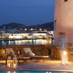 Porto Mykonos boasts the most ideal location in Mykonos town overlooking the vivid pace of the Port and the sparkling colors of the sea. Nestled in one of the most romantic landscapes in Greece this seaside retreat offers the most magical Mykonos town view with flickering lights illuminating the windmills and the historic center. The …