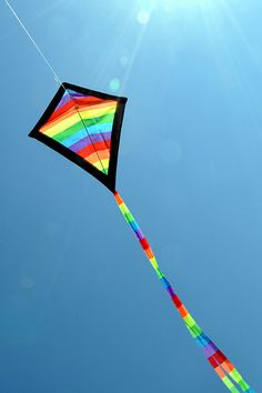 I want to fly a kite.  I never have.