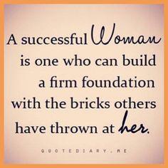 A successful women.....