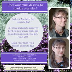Nuts About Style wants to help you make your mum feel a million dollars!