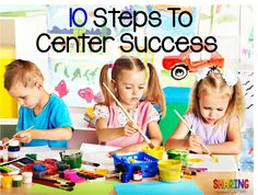 Sharing Kindergarten: 10 Steps to Center Success
