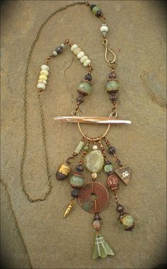 Lucid Dreaming Shaman Amulet Necklace by maggiezees on Etsy