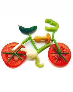 cute veggie bike