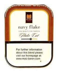 MacBaren Navy Flake 3.5oz tin