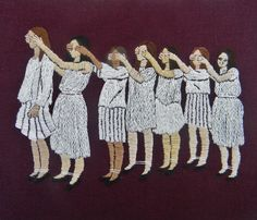 Michelle Kingdom's Curious Embroidery