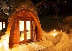 The PODhouses feature rugged durability, good insulation of the floors and walls and double glazed windows...