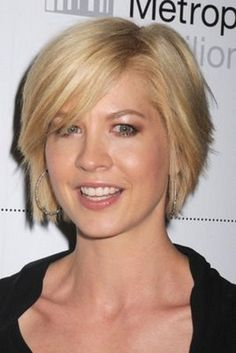 "short layered bob, This may be my next stop on the ""pixie grow out plan"""