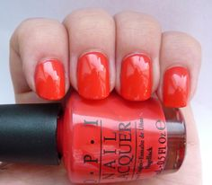 opi on collins ave - really, really pretty coral