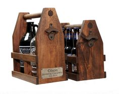 Beer Ready to Ship Craft Beer Growler Carrier 64oz, Personalized Beer Caddy, Tote