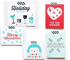 Holiday Cards - sass and peril