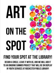 Great outreach or in library program - Int'l Dot Day would also be perfect tie-in!