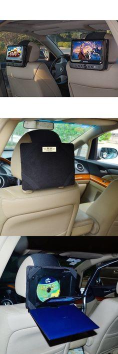 car monitors w o player tfy car headrest mount for sylvania sdvd9805 portable dvd player
