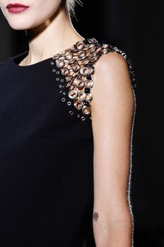 Anthony Vaccarello Fall 2013 RTW - Details - Vogue