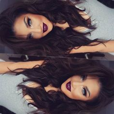 """""""✌ Hola hunny bunnies Hair Extensions Dark chocolate 20 from My Fantasy Hair Extensions Tumbrl Girls, Grunge Hair, Brunette Hair, Brunette Color, Hair Dos, Pretty Hairstyles, Men's Hairstyle, Funky Hairstyles, Formal Hairstyles"""