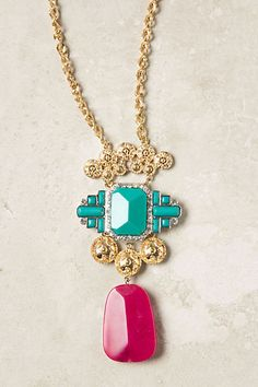 Wing Tile necklace from Anthropologie