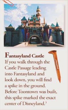 Disney Secrets : the center of Disneyland Disneyland Secrets, Disneyland Vacation, Disney Secrets, Disney Vacations, Disney Trips, Family Vacations, Cruise Vacation, Disney Cruise, Disney Dream