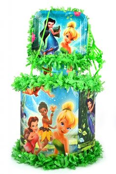 World of Pinatas - Tinkerbell Bell and the Fairies Pinata, $27.99 (http://www.worldofpinatas.com/tinkerbell-bell-and-the-fairies-pinata/)