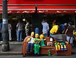 Rua Santa Ifigênia vazia durante a partida entre Brasil e Chile