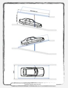 A Mechanical hydraulic parking systems,Automotion Parking Systems,Robotic Parking Car Park Design, Ramp Design, Parking Design, Tool Design, Building Design, Parking Plan, Parking Building, Car Parking, Autocad
