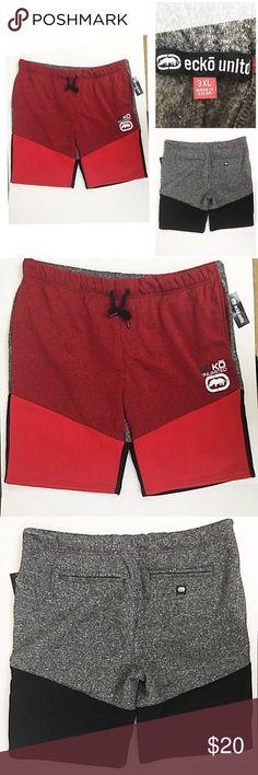 a76b6229c5 Ecko UNLTD soft men s drawstring shorts size 3XL NWT Ecko UNLTD. Men s  shorts in red