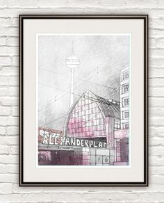 Hey, I found this really awesome Etsy listing at https://www.etsy.com/listing/105928363/alexanderplatz-square-station-berlin