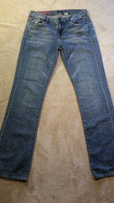 J Crew Hip Slung woman's 29/32 jeans   #JCrew #StraightLeg