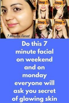 Do this 7 minute facial on weekend and on monday everyone will ask you secret of glowing skin In this post, I have shared a simple facial to help you get a clear, glowy, whiter and spotless skin in just 7 minutes. you can do this facial once in a week to repair damaged skin, improve the elasticity & flexibility of the skin, diminish fine lines on the face, to make your skin …