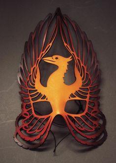 Phoenix filigree leather mask. $65 Phoenix Costume, Masquerade Ball, Mascarade Mask, Mode Costume, Bird Masks, Leather Mask, Cool Masks, Venetian Masks, Animal Masks