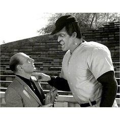 Leo Durocher and Herman Munster