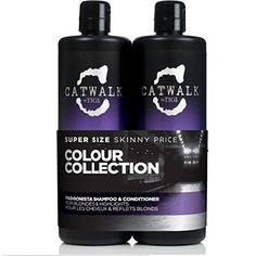 Catwalk Tigi Fashionista Blonds and Highlights Shampoo  Conditioner Set 2536 Fluid Ounce by TIGI  * Want additional info? Click on the image.(This is an Amazon affiliate link and I receive a commission for the sales)