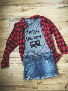 Happy Glamper Tee by Folklore Couture #glamper
