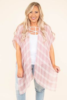 Grab The Luggage Kimono, Rose Look Rose, Basic Outfits, Neutral Colors, Size 12, Kimono Top, Dress Up, Skinny, Chic, How To Wear