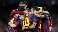 Barcelona 4 Ajax 0 Fc Barcelona, One Team, Photo Galleries, Wrestling, Football, Gallery, Sports, Club, Lucha Libre