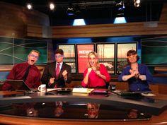 Q13 FOX News team does TMNT!