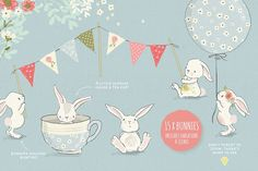 The Fresh Spring Collection - Illustrations