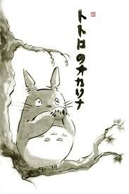Image result for painting totoro