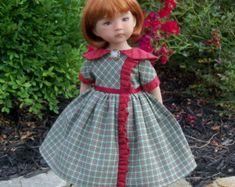 "PDF Sewing Pattern / Little Miss Ruffles for Dianna Effner 13"" Little Darlings"