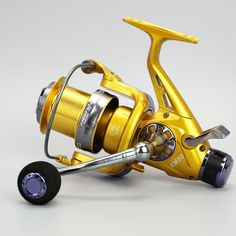 5BB Metal Left//Right Hand Dual Head Rock Arm Raft Fishing Reel Wheel High Speed