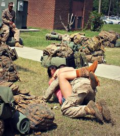 10 Stages Of Homecoming Week For A Military Spouse. Don't mind me, just losing my mind by the day. Military Girlfriend, Military Humor, Military Spouse, Military Veterans, Military Deployment, Usmc Love, Military Love, Homecoming Week, Military Homecoming