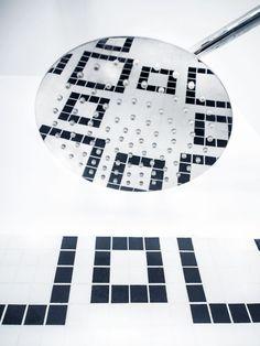 łazienka black & white / Spoiwo Studio