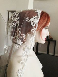 Crystal Embellished Bridal Veils